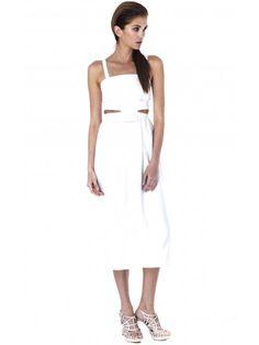 Cómo usar el Little White Dress LWD ::: Mini Vestido Blanco #Summer2014 Vestido de Daniel Silverstein disponible en www.styleto.co