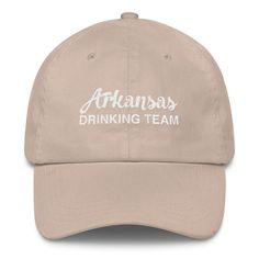 Arkansas Drinking Team Classic Dad Cap   The Inked Elephant