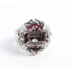 Cosplay Accessory Inspired by Reborn! Kyoya Hibari Original Vongola Cloud Ring