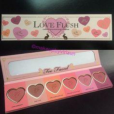 Too Faced Love Flush blush palette!!