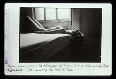 "Duane Michals, Person to Person, 3 of ""Even now, when he thought of her, it was her body that he missed. He wanted to touch her. Body Art Photography, Artistic Photography, Street Photography, Lise Sarfati, Projector Photography, Duane Michals, Francesca Woodman, Body Shots, Saul Leiter"
