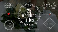 Buy Wedding Titles by LemonMotion on VideoHive. Wedding Titles is a new After Effects template.It includes 25 Unique wedding titles for your wedding video, slideshow. Wedding Titles, Wedding Film, Free Wedding, Our Wedding, Destination Wedding, Cinematic Trailer, Wedding Crashers, Animation, Secret To Success