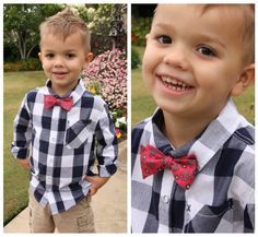 bow tie collage