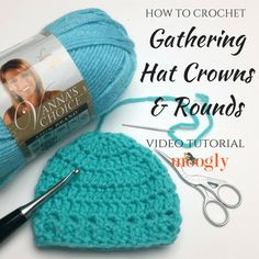 How to gather up the last round of a hat for the perfect crown... or the toes of your slippers, or whatever you need to close up and finish off! Video tutorial on Moogly!