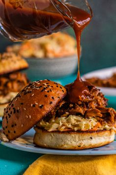 There's a reason why this is one of our top five most-saved recipes of all time. Save the recipe! Pork Recipes, Crockpot Recipes, Small Crock Pot, Most Popular Recipes, Pork Roast, Pulled Pork, Quick Easy Meals, Slow Cooker, Snacks