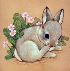 Illustration by ruth morehead cute drawings, animal drawings, drawing anima Bunny Tattoos, Rabbit Tattoos, Bunny Art, Cute Bunny, Bunny Drawing, Cute Animal Drawings, Cute Drawings, Drawing Animals, Simple Drawings