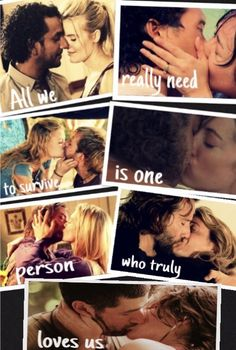 """All we really need to survive is one person who truly loves us.""-Penny Hume❤️"
