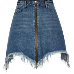 Most methods to choose a denim mini skirts will be dependent your unique design, however this very easy chic wardrobe. Jean Skirt Outfits, Denim Skirt, Jupe Short, Denim Fashion, Womens Fashion, Winter Skirt Outfit, Ladies Dress Design, Mini Skirts, Fashion Design