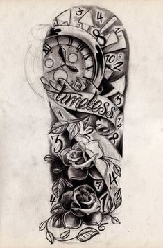 Timeless Sleeve Sketch by *WillemXSM on deviantART