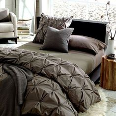 West Elm offers modern furniture and home decor featuring inspiring designs and colors. Create a stylish space with home accessories from West Elm. Dream Bedroom, Home Bedroom, Master Bedroom, Bedroom Decor, Bedroom Ideas, Bedroom Colors, Bedroom Furniture, West Elm, Luxury Bedding