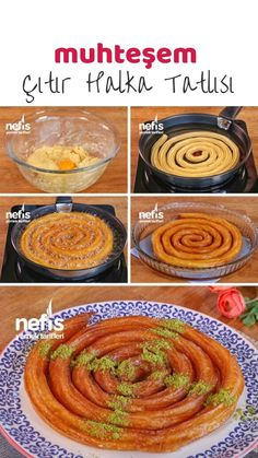 Donut Recipe (with video) – Delicious Recipes Donut Recipes, Dessert Recipes, How To Make Rings, Food Decoration, Food Videos, Donuts, Sweet Tooth, Almond, Deserts