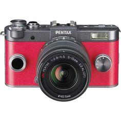 DECISION MADE! THIS IS THE SMALL PURSE CAMERA I WANT. Pentax Q-S1 Mirrorless Digital Camera with 5-15mm Lens 06154 B&H