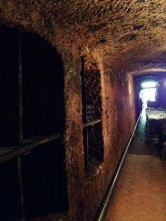 Sovana antica cantina scavata nel tufo