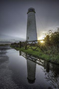 """""""Leasowe Lighthouse Sunburst Sunrise"""" (North West England)   Flickr - Photo Sharing!"""