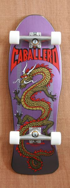 """POWELL 29.75"""" CABALLERO CHINESE DRAGON COMPLETE 