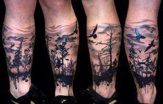 tattoo dark forest - Pesquisa Google