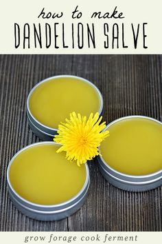 Learn how to make this dandelion salve recipe using foraged dandelions! This homemade herbal salve is especially good for sore muscles, joints, and dry skin. Natural Home Remedies, Herbal Remedies, Health Remedies, Natural Medicine, Herbal Medicine, Different Types Of Arthritis, Cooking With Turmeric, Salve Recipes, Heart Attack Symptoms