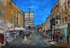 Watercolours, drawings and prints by Peter Quinn. Urban Sketching, Art Tips, Pilgrim, Newcastle, Printmaking, Modern Art, Street View, Watercolor