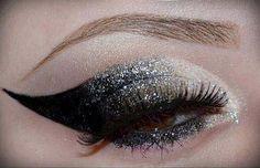 Glittery Holiday Make-up Inspiration