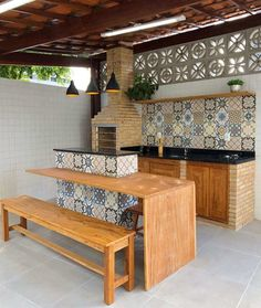 Outdoor Kitchen Patio, Outdoor Kitchen Design, Home Decor Kitchen, Patio Design, House Design, Garden Design, Mexican Home Decor, Sweet Home Alabama, Kitchen Remodel