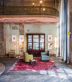"yatzer: ""Between Time: A Pop-up Furniture Showcase in Berlin. """