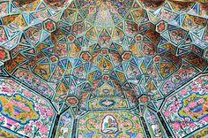 The Nasir al-Mulk Mosque, Shiraz, Iran  Sacred Geometry