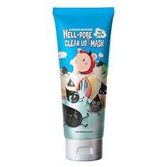Elizavecca milkypiggy Hell-Pore Clean Up nose Mask, liqui