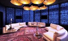 Kameha Grand Zurich, Shisha Lounge with oriental atmoshpere and of course nargile...