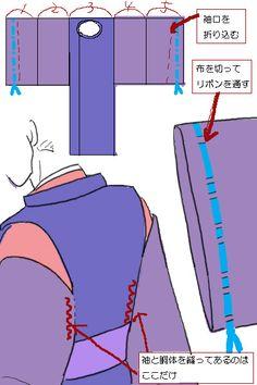 3・4 狩衣(かりぎぬ)