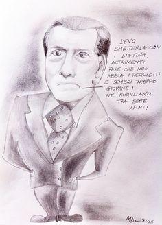 #VIGNETTA: Silvio #Berlusconi #Colle rughe
