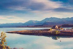 Lake Tekapo, New Zealand #churchofthegoodshepherd