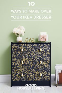 At $35, who doesn't own a RAST chest? Transform this simple, inexpensive set of drawers into a showpiece for any room with these easy hacks.