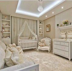 Gender neutral baby nursery room design with recessed lighting. Baby Bedroom, Baby Boy Rooms, Baby Room Decor, Nursery Room, Girls Bedroom, Bedroom Decor, Bear Nursery, Room Baby, Nursery Ideas