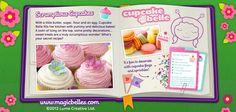 #Cupcake Belle's Special Wonders. Lots & lots of #sweet little #treats! http://magicbelles.com/specialwonders/scrumptiouscupcakes.html