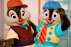 Chip & Dale @ Disney California Adventure Disney Trips, Walt Disney, Chip And Dale, Disney California Adventure, Never Grow Up, Chips, Meet, Characters, Vacation