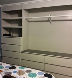 IKEA Hack: Built-In Wardrobe Using Malm Dressers