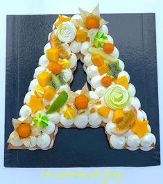 Ideas For Birthday Cake Diy Fruit Letter Cake Toppers, Monogram Cake Toppers, Wedding Cake Toppers, Marzipan Creme, Fondant Letters, Wedding Cake With Initials, Alphabet Cake, Dad Birthday Cakes, Diy Birthday
