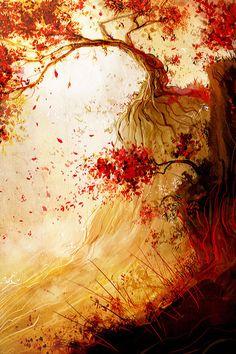 Red Wind by gallen0   -amazing-