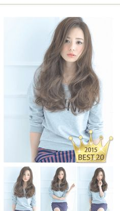 I want this haircolour Curly Hair Styles, Natural Hair Styles, Hair Arrange, Asian Hair, Face Hair, Hair Photo, Hair Looks, Hair Trends, New Hair