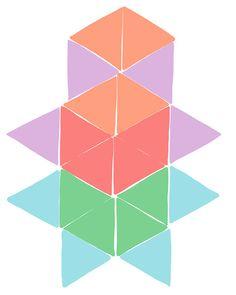 i ♥ geometry Magnatiles Masterpiece.