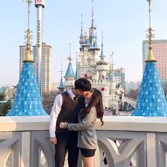 Yes I Did, Ulzzang Couple, Couple Goals, New York Skyline, Singing, Best Friends, Asian, Korean, Cute
