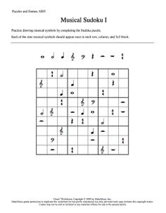 Musical Sudoku Middle School Choir, Music School, General Music Classroom, Music Theory Worksheets, Elementary Music Lessons, Dear Students, Music Games, Teaching Music, Music Education
