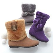 Take a look at the Fashion Underfoot: Girls' Boots event on #zulily today!
