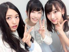 Kitarie, Yuihan and Sakura #AKB #NGT48