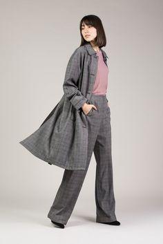 Josephine Coat by Yune Ho #kickpleat