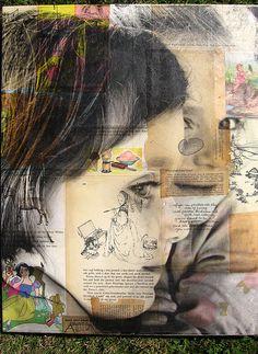 Mixed Media | MICHELLE CAPLAN: Mixed Media Collage Artist