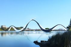 A Denton Corker Marshall and Parry and Rosenthal Architects-designed pedestrian bridge linking east Perth to the new Perth Stadium will now be fabricated locally.