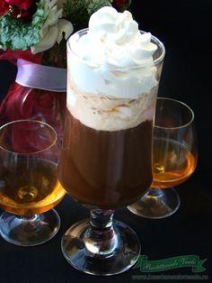 Cafea cu inghetata si coniac Chocolate Fondue, Panna Cotta, Juice, Bakery, Deserts, Cooking Recipes, Ice Cream, Pudding, Drinks
