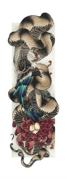 Tui snake   Prints   Print Cult
