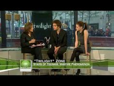 a TODAY show interview w/ rob & kristen for Twilight :) ah memories.